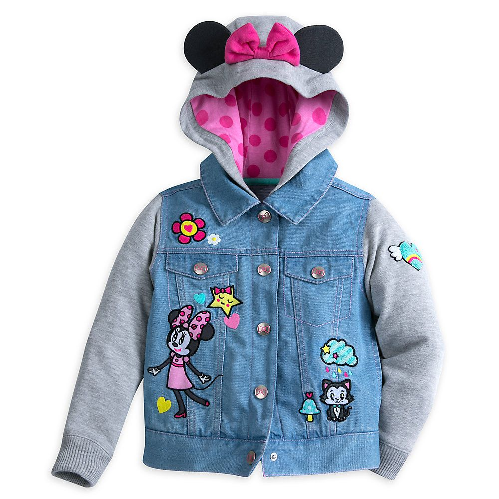 ce23b6bb1 Minnie Mouse Hooded Jacket For Kids