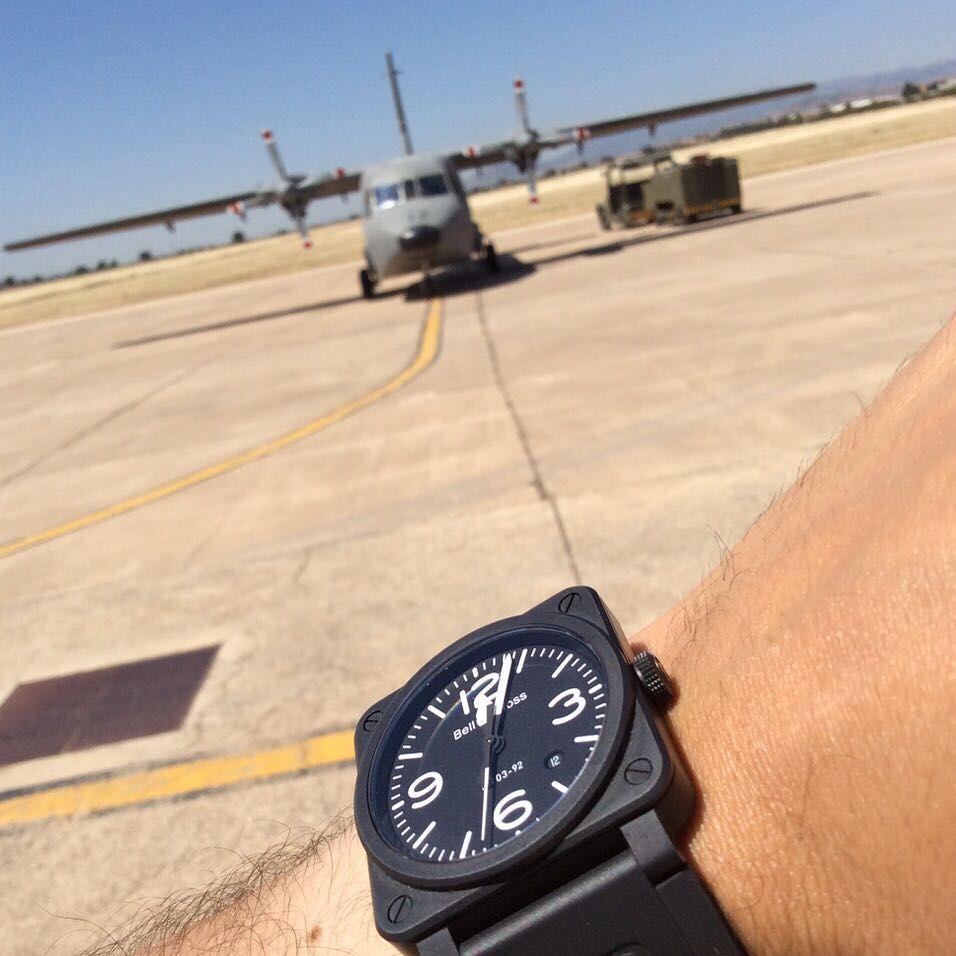 BR 03-92 Black Matte #bellross #bellandross #bellrosscommunity #comunidadbellross #instawatch #relojes #aviation #aviacion #black