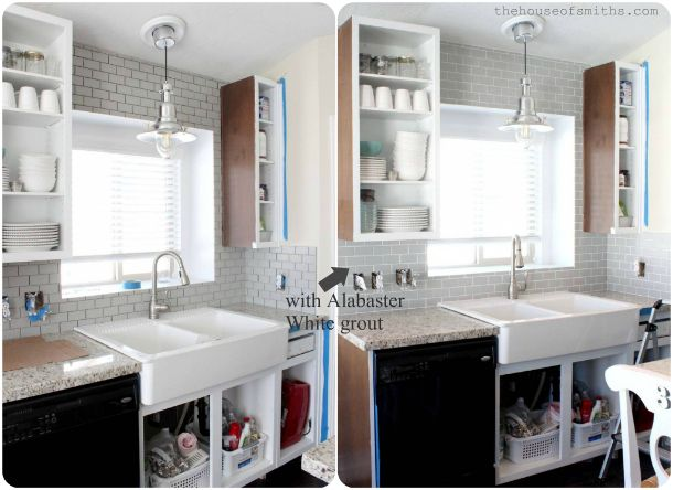 A Kitchen Re Style Part 4 Cabinets Backsplash Modern
