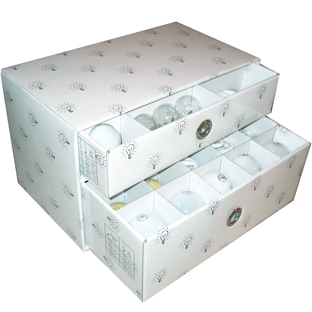 With This Light Bulb Storage Box You Can Easily Organize All Of Your Light  Bulbs And
