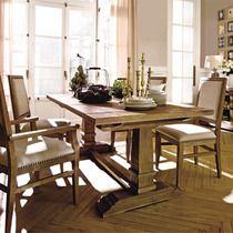 mesa de comedor extensible de madera vintage - Mesa Comedor Vintage