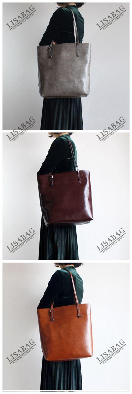 Handmade Women s Fashion Leather Tote Bag Handbag Shoulder Bag Shopper Bag  in Red 14149 - Red   Bag, Purse and Fashion bags de512e1661