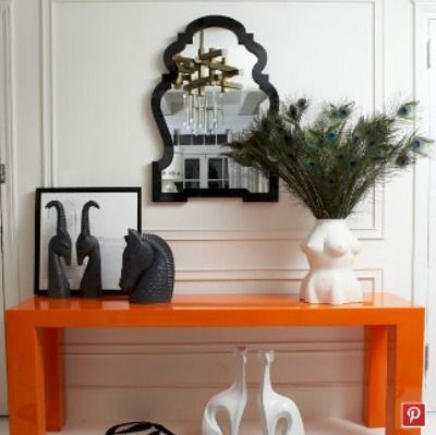 Queen Anne Mirror Black Have This In White And I Love It