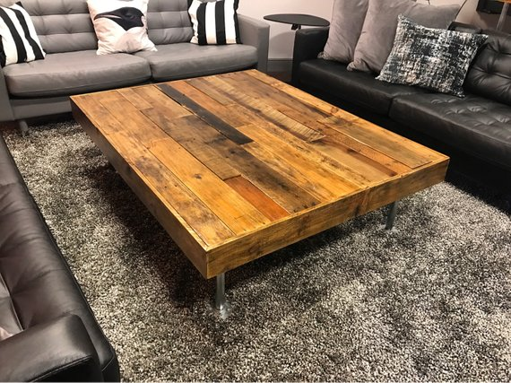 Coffee Table Rustic Coffee Table Distressed Wood Table Etsy Rustic Coffee Tables Coffee Table Wood Table Living Room