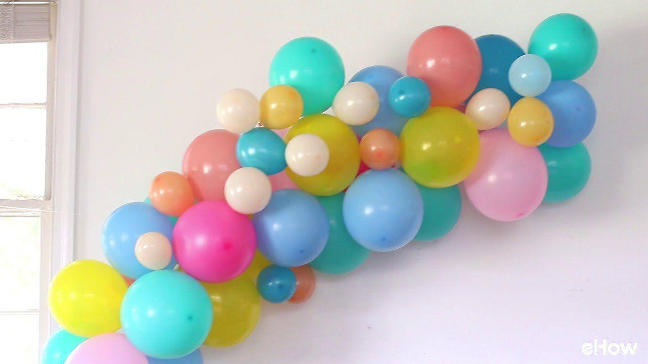 Diy Birthday Decoration Ideas Unique 3 Easy Diy Balloon Decoration Ideas