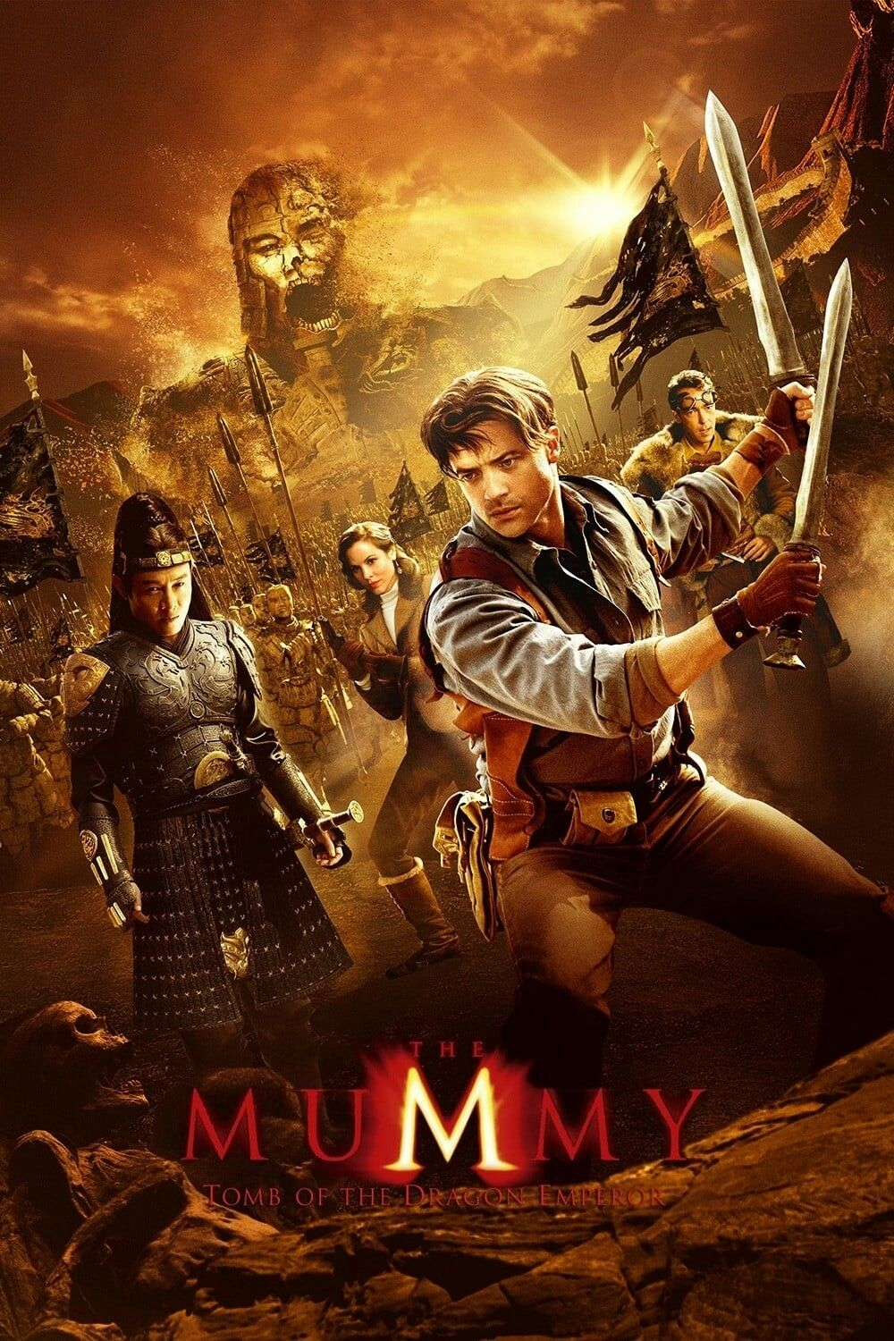 The Mummy Tomb Of The Dragon Movie Poster Fantastic Movie Posters Scifi Movie Posters Horror Movie Posters Action Mov Mummy Movie Free Movies Online Emperor