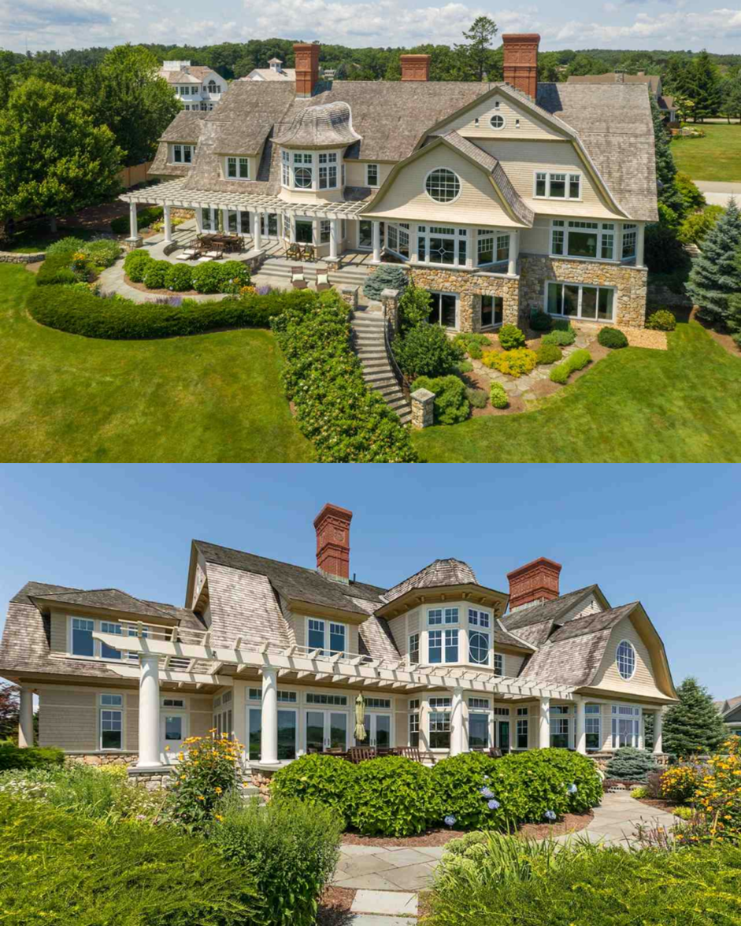 Best Properties Shingle Style Homes Mansions For Sale 400 x 300