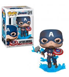 Funko POP Endgame: Capitán América Mjolnir