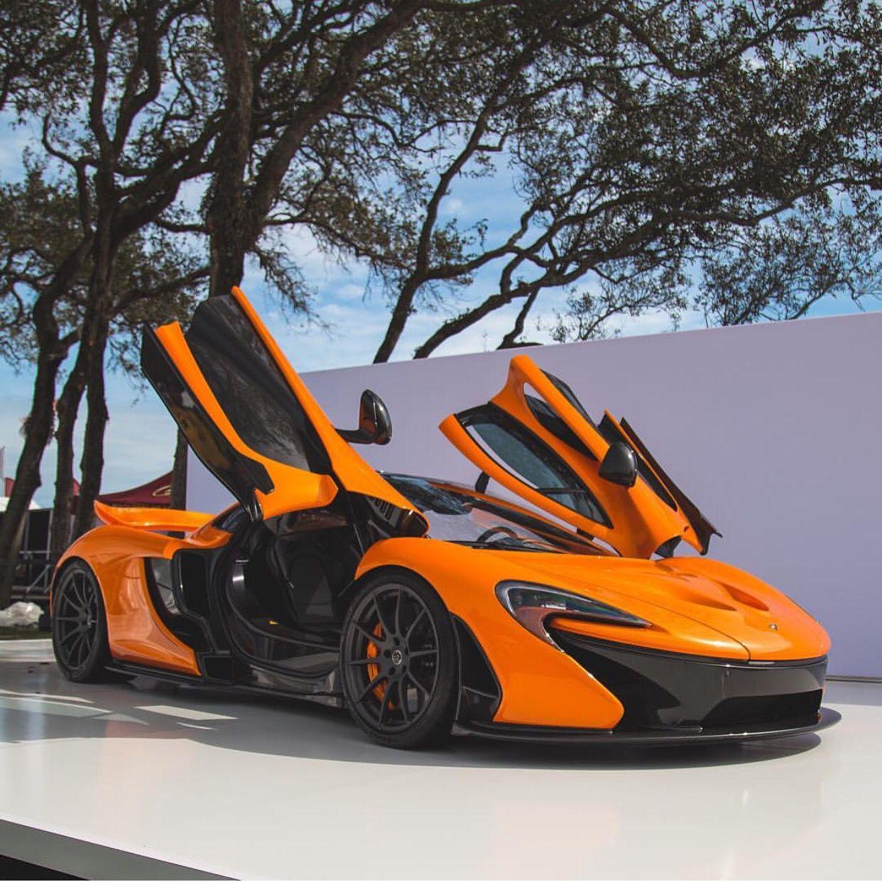 McLaren P1 Painted In Papaya Spark W/ Exposed Carbon Fiber Photo Taken By: @