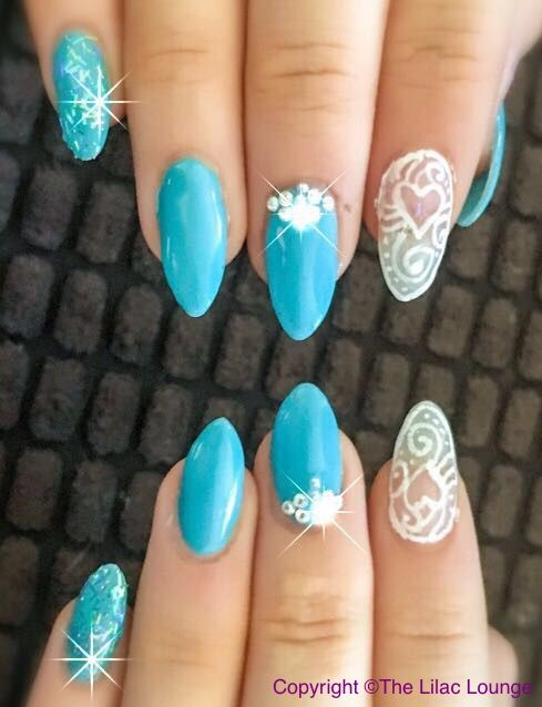 Blue Lace - Nail Art Gallery | Nails | Pinterest | Nail art ...