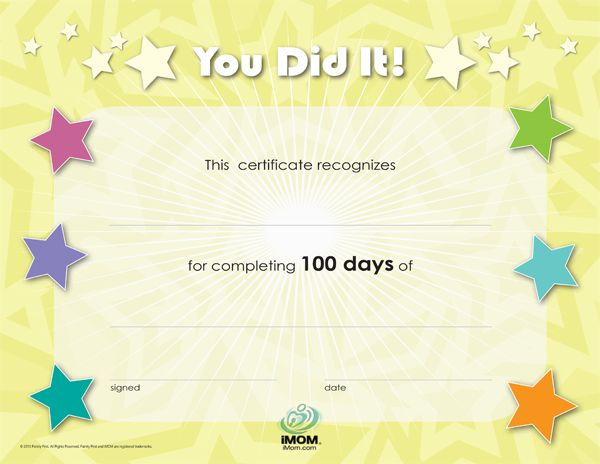 Award Certificate for a job well done! Digi Freebies Pinterest - job well done