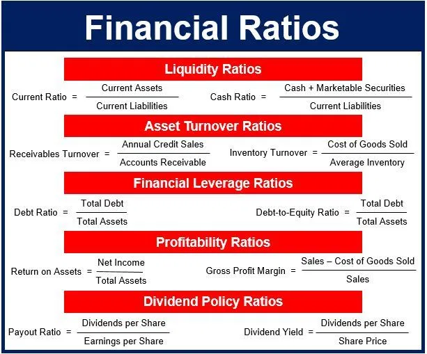 What Are Financial Ratios Definition And Meaning Market Business News In 2020 Financial Ratio Financial Return On Assets