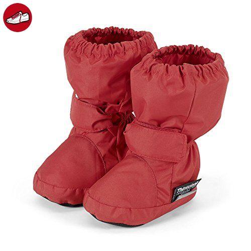Sterntaler Baby Mädchen Schuh Krabbel-& Hausschuhe, Rot (Rubin 796), 18 EU - Kinder sneaker und lauflernschuhe (*Partner-Link)