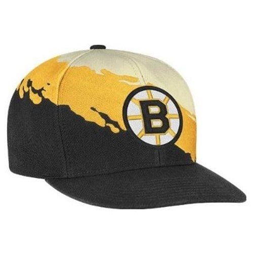 0b06f89b2e2 Snapback Fashion Blog Boston Bruins Mitchell   Ness NHL Vintage Paintbrush  Snap Back Hat