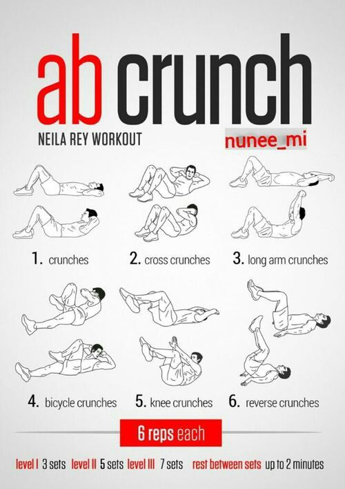 Neila Rey workout   Fit Motivation   Upper abs, 100 workout, Ab