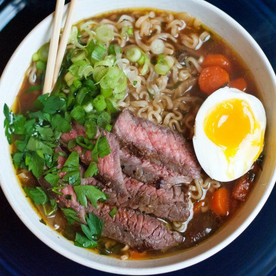 Beef Ramen Noodle Soup | Soup Recipes | Pinterest | Ramen ...