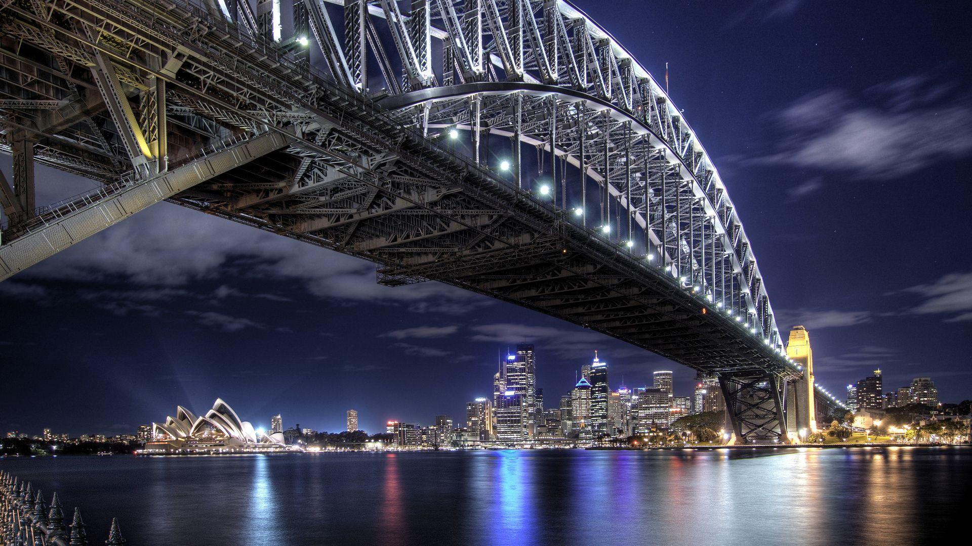 Full Hd 1920x1080 Harbour Bridge Sydney Australia 1920x1080
