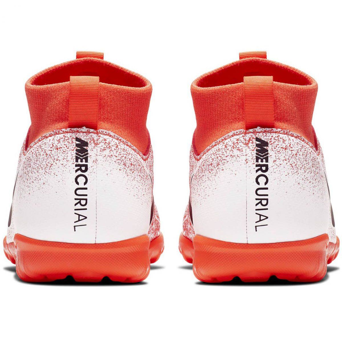 Buty Pilkarskie Nike Mercurial Superfly X 6 Academy Tf Jr Ah7344 801 Pomaranczowe Wielokolorowe Football Boots Superfly Sports Footwear