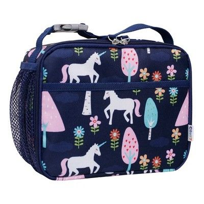 be640bbaab Crckt 7 Kids  Unicorn Print Lunch Box - Navy