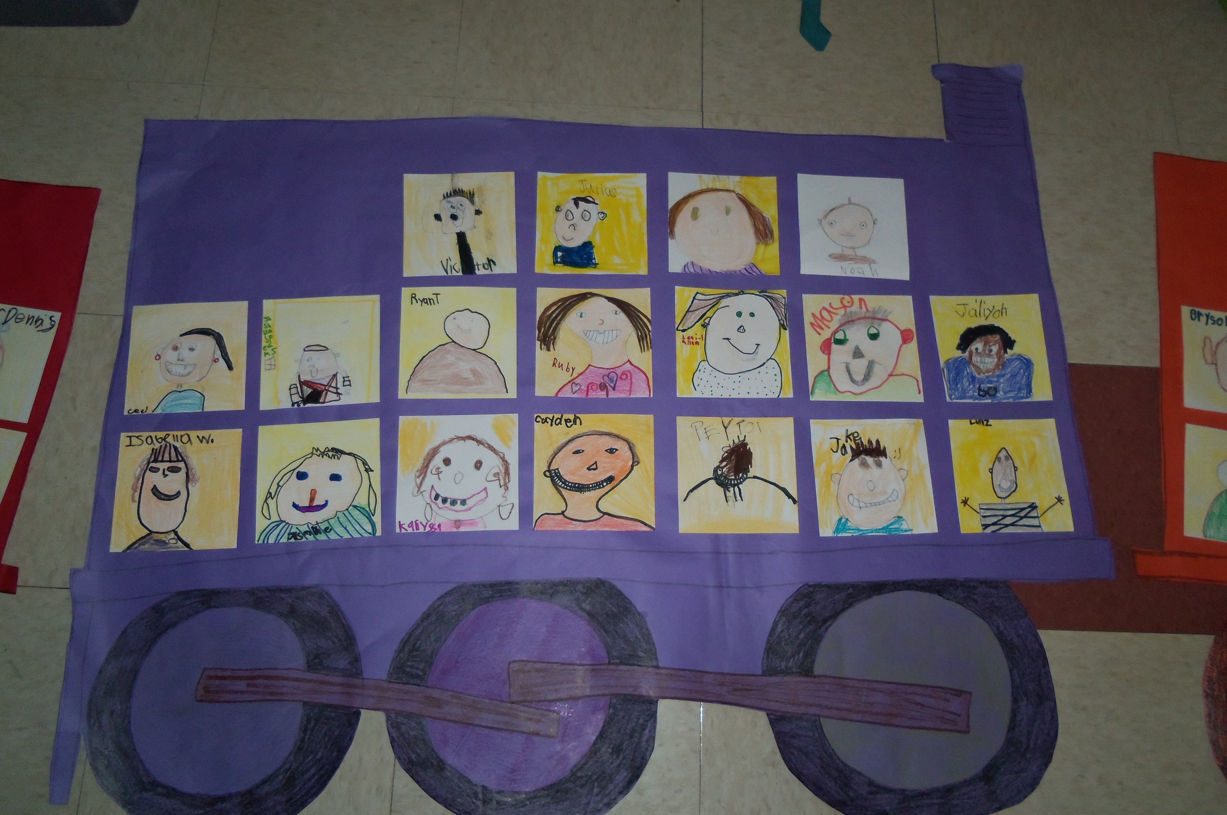 When Reading The Polar Express Our First Graders Rotated