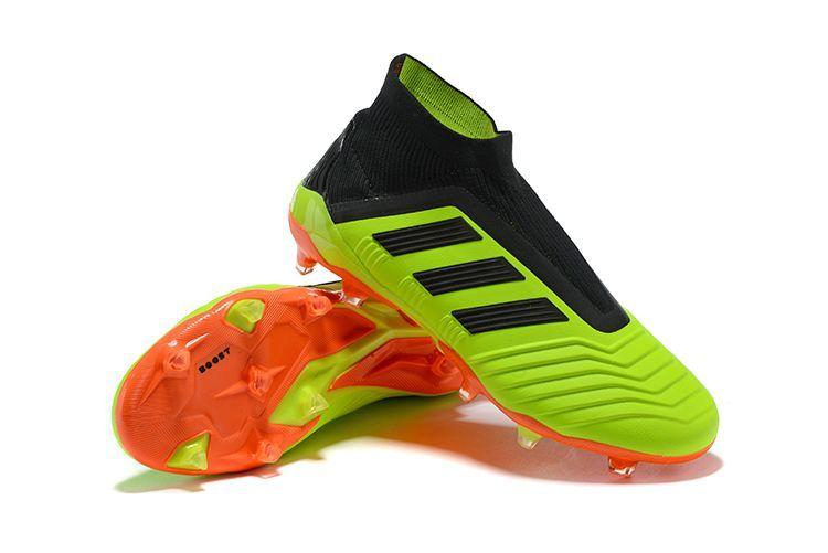 buy online 17f28 5e74b Kjøp Fotballsko Adidas Predator 18+ FG Grønn Sort Oransje visit ushttps