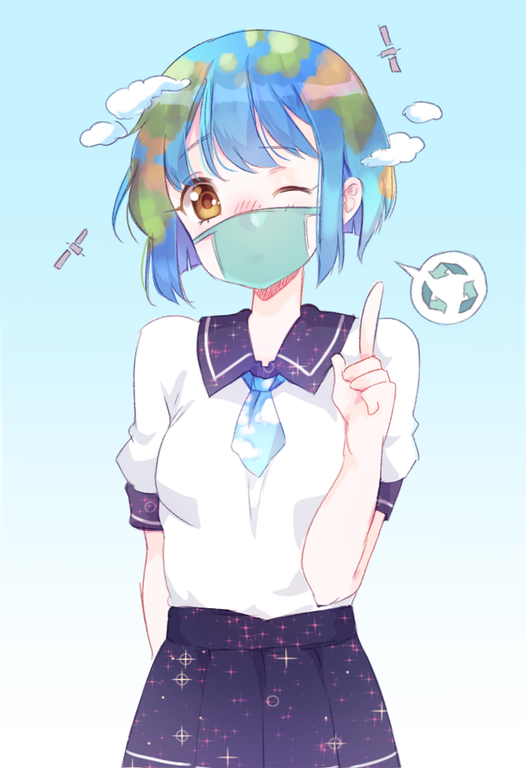 Earth Chan By NiniiDawns Earthchan