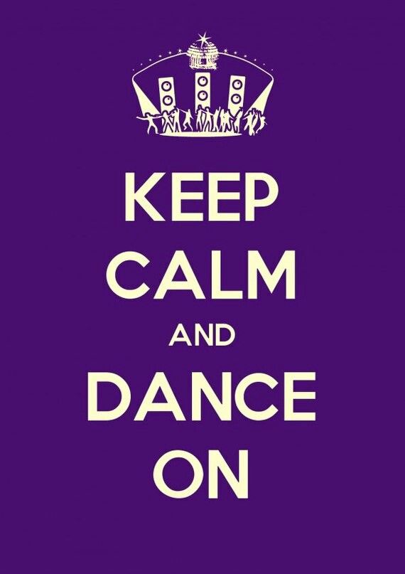 #keep #calm & #dance