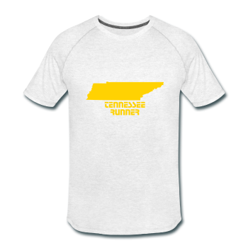 State Your Name & Love Your State - Tennessee Runner Men's Tri-Blend Performance T-Shirt