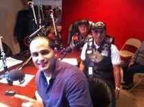 On the radio: Veterans Day 2012, Nat'l Chair Frank Medina & Borinqueneers Raul Castaniera & Andres Medina.