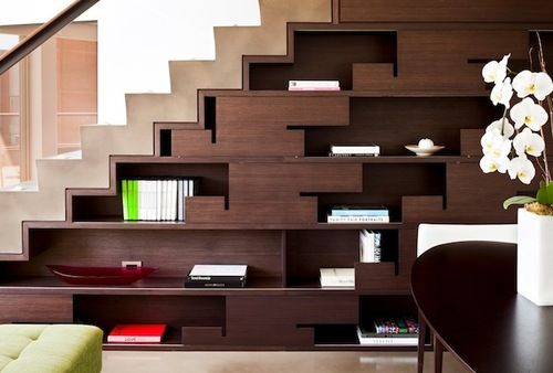 Library Under Stairs Design Details Pinterest West London
