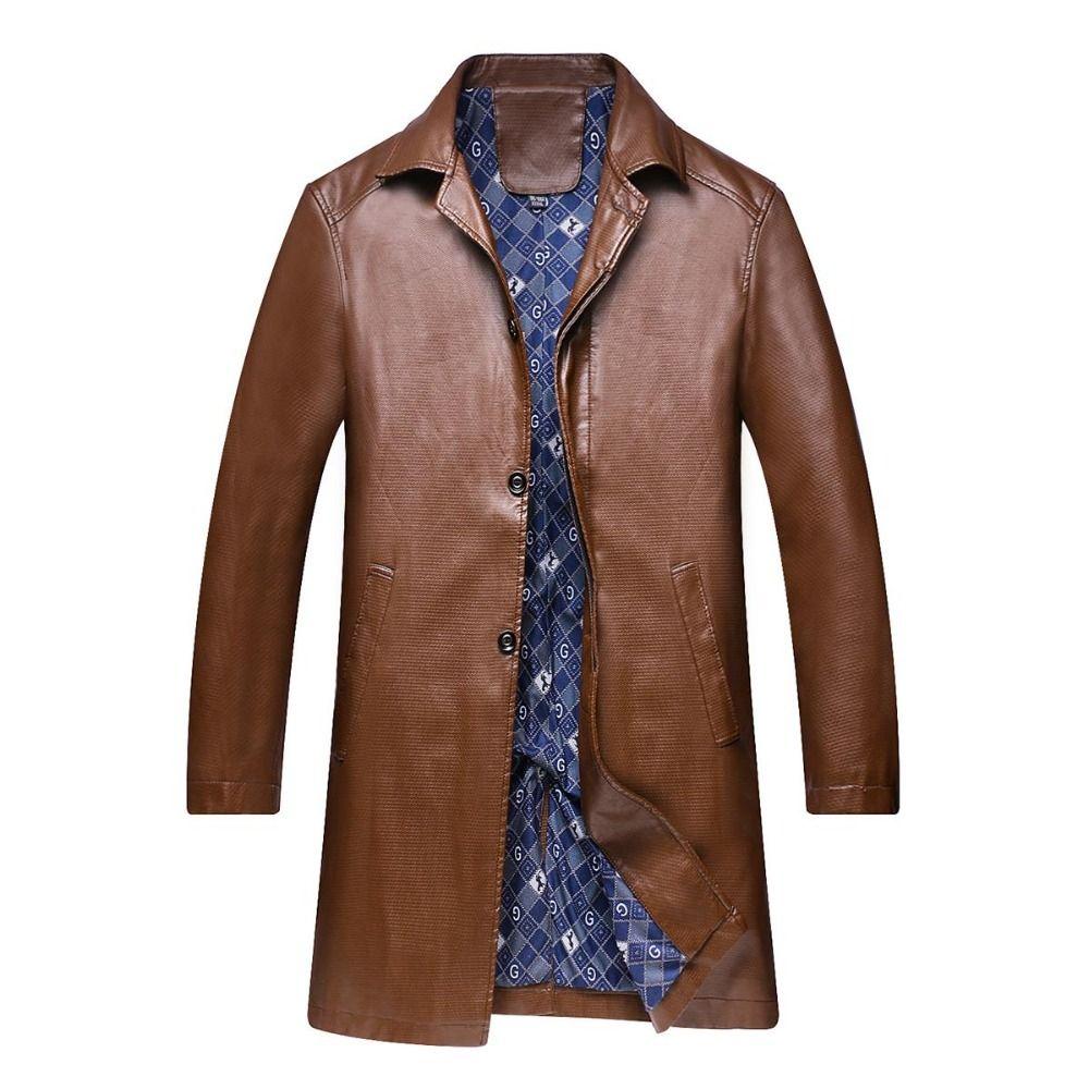 Click To Buy 8xl 6xl 5xl Leather Jacket Genuine Leather Mandarin Collar Sheepskin Coat Male Leather J Leather Jacket Leather Jacket Dress Trench Coat Men [ 1000 x 1000 Pixel ]