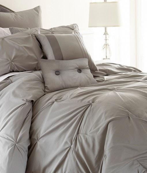 8 Piece Gray Comforter Set