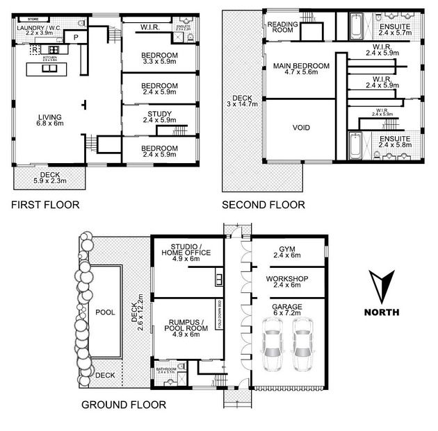 Shipping Container Home Floor Plans artsy 3-storey home built from 31 shipping containers | floor