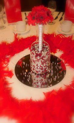 5 x 30cm Round Mirror Plates Wedding Table Centrepiece | My Style ...