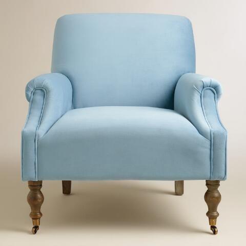 Enjoyable Icy Blue Mazie Chair World Market Mary Blue Room Decor Ibusinesslaw Wood Chair Design Ideas Ibusinesslaworg