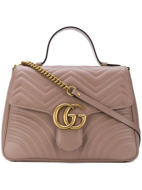 444b05e1c7e9 Gucci GG Marmont Medium Top Handle Bag  3