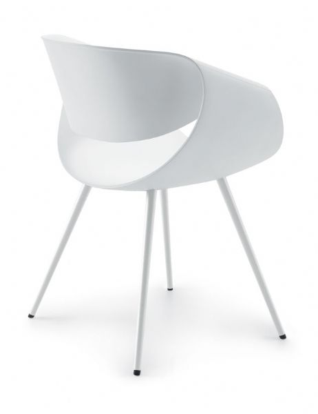 Zuco Little Perillo chair in White.