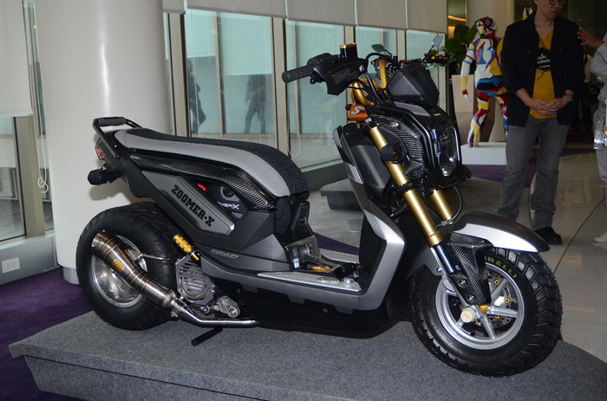 2013 Honda Zoomer X Thailand Review And Modification Luweh Com 2013 Honda Honda Honda Motors