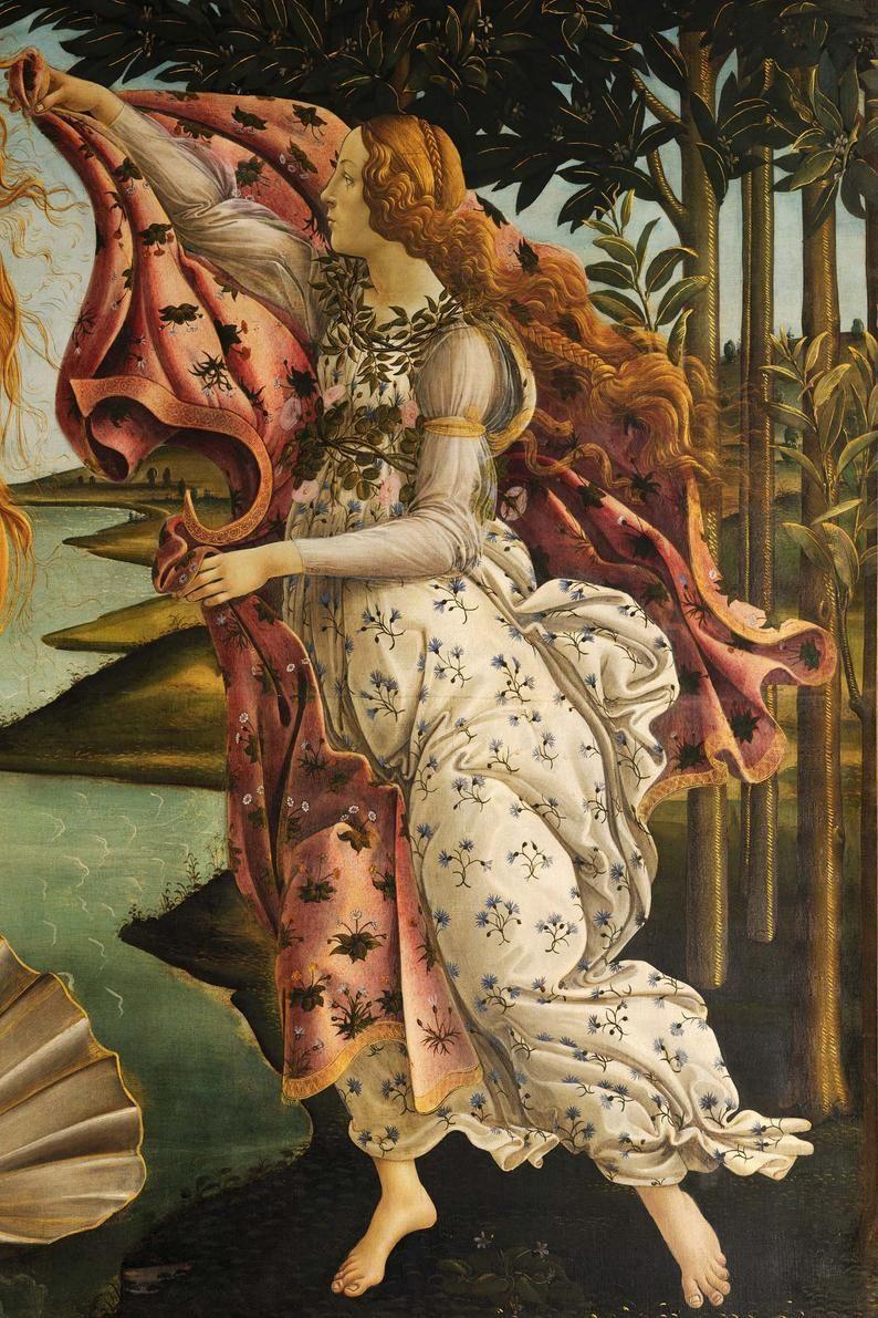 Fine Art Wall Print Art Print Renaissance Botticelli Etsy