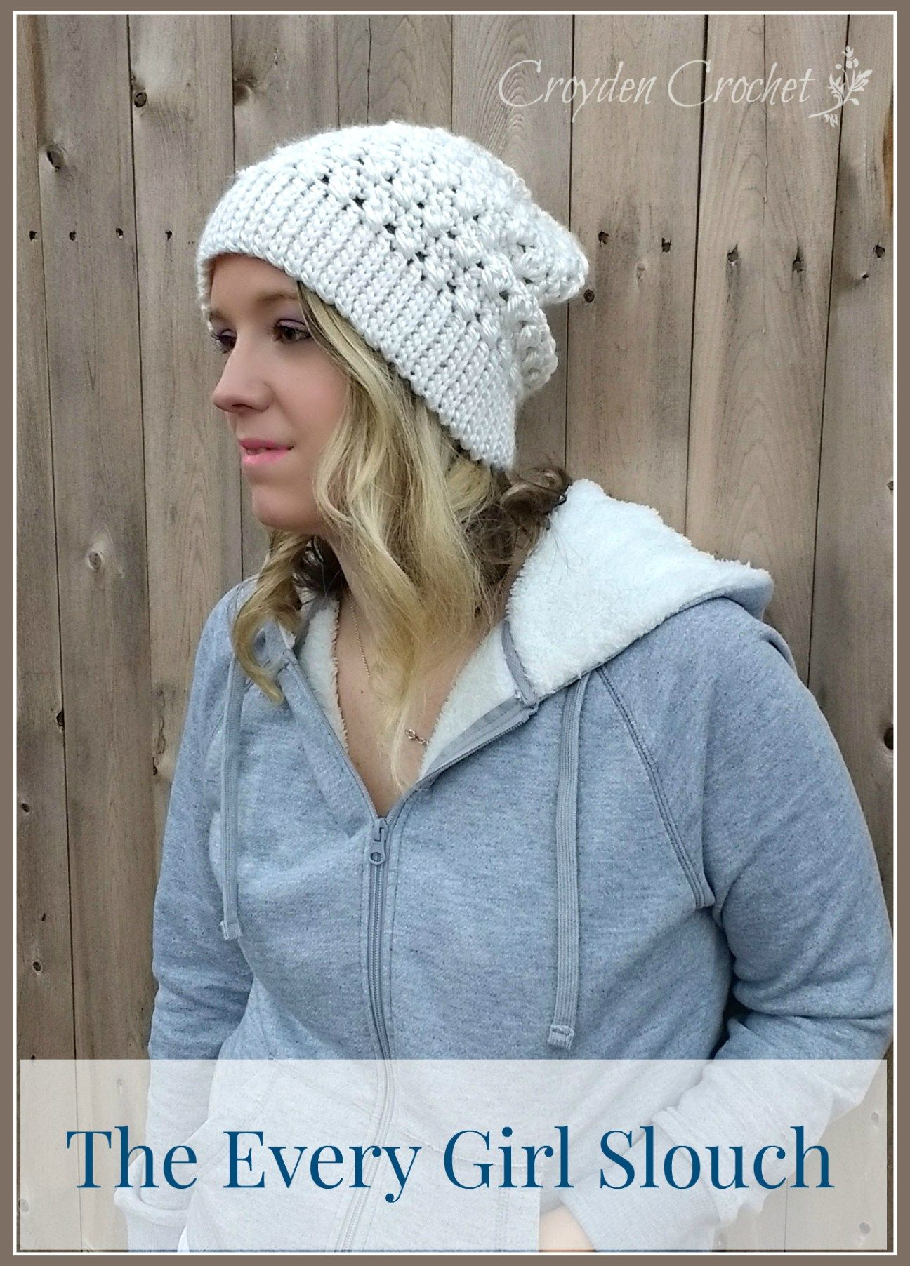 The Every Girl Slouch | Hekel Dames Bykomstighede | Pinterest