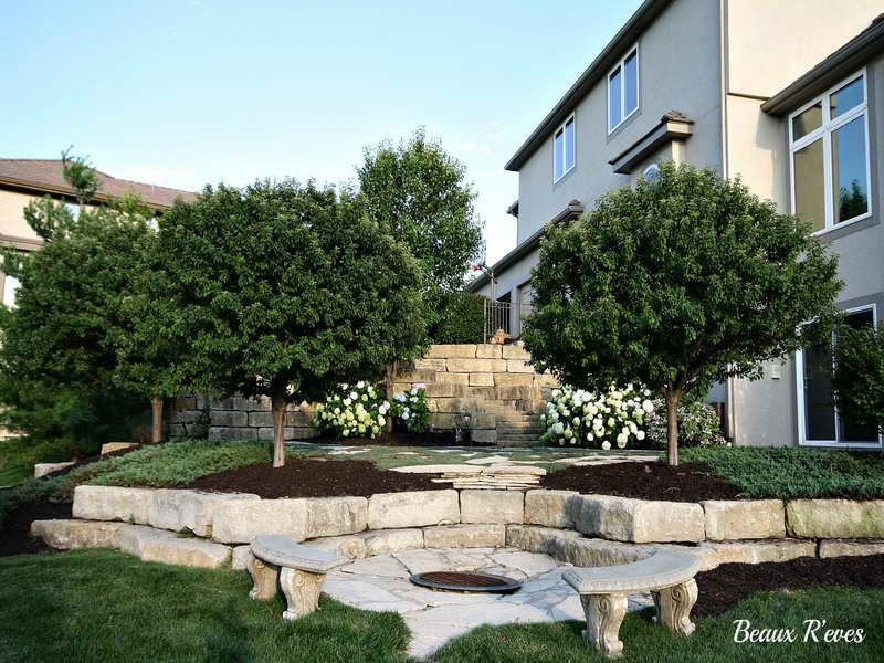 Patio Mister For Backyard Refreshing And Cooler In Summer Days With The Trees ~ http://lovelybuilding.com/adding-patio-mister-for-backyard/
