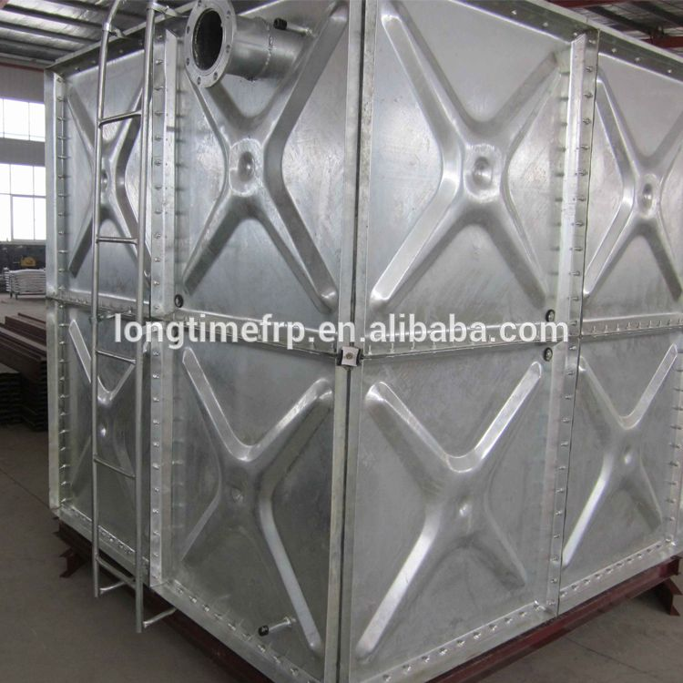 2018 New Pressed Steel Hot Galvanized Steel Water Storage Panel Tank For Firefighting Drrinking Water Galvanized Water Tank Steel Water Tanks Water Tank
