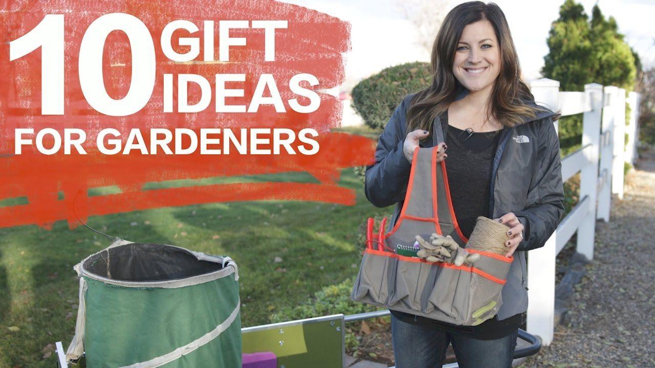 10 Gift Ideas for Gardeners // Garden Answer Flower Care