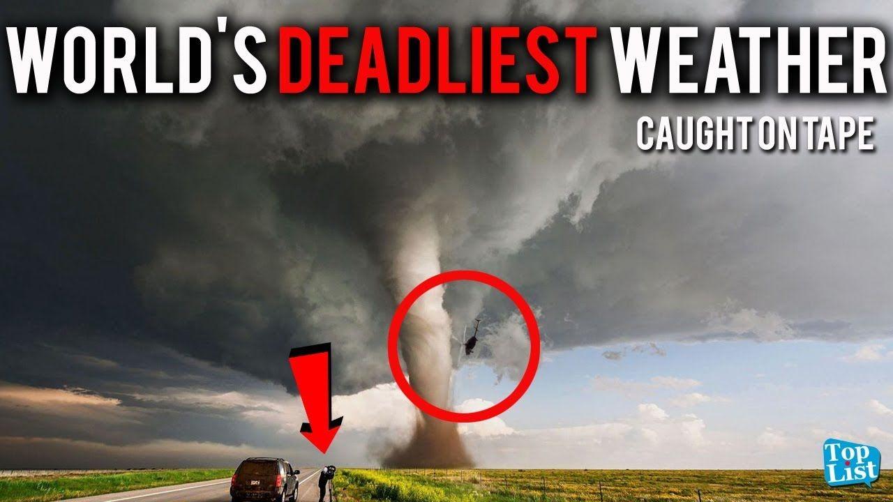 World S Deadliest Weather Caught On Camera Hurricane Irma Tornado S Ook Wel Beetje Grappig Eigenlijk Weather Tornado Hail Storm