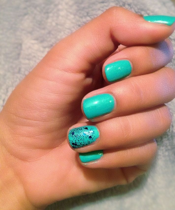 St. Pattys Day nails