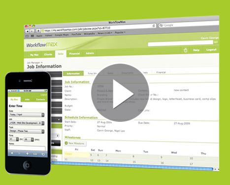 Job, Time \ Invoice Management software for Creatives, Agencies - invoice services