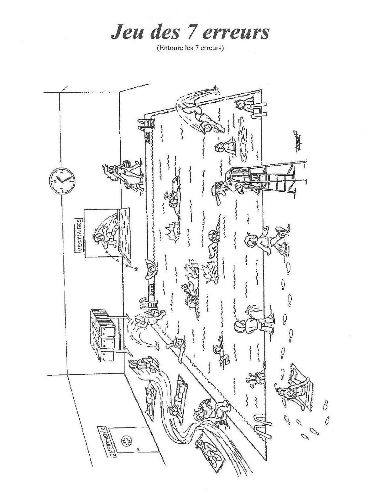 jeu des 7 erreurs piscine jeux des 7 erreurs 7. Black Bedroom Furniture Sets. Home Design Ideas