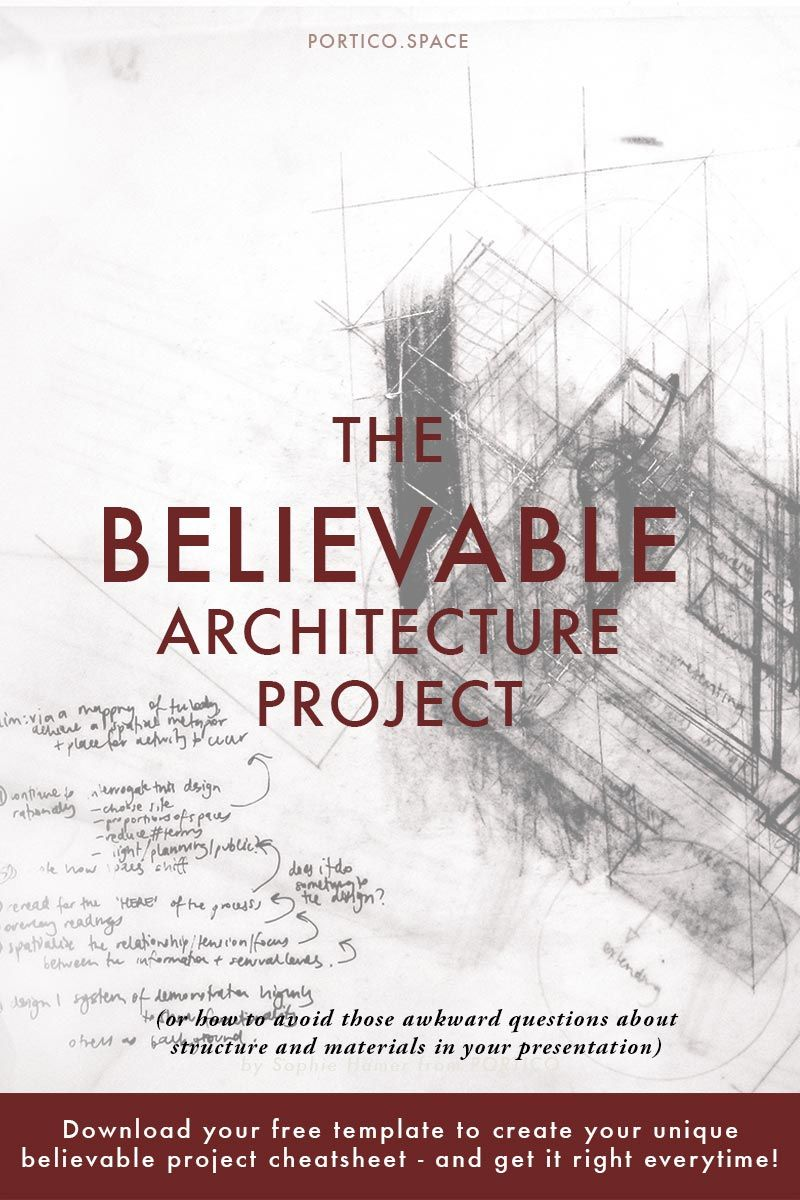the believable architecture project: do you get frustrated, Presentation templates