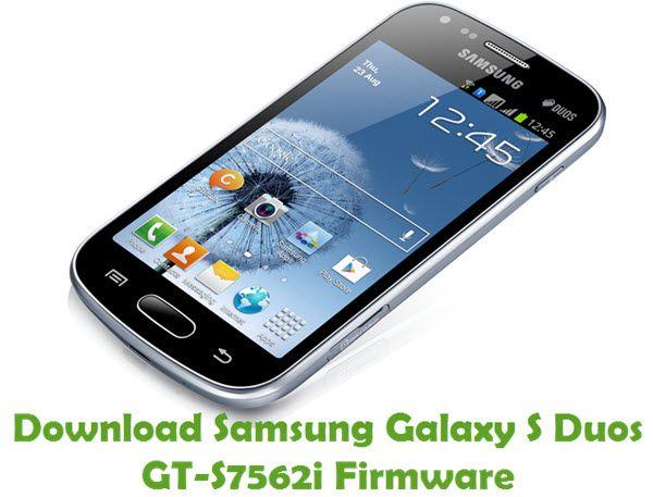Samsung Galaxy S Duos GTS7562i Firmware Samsung galaxy