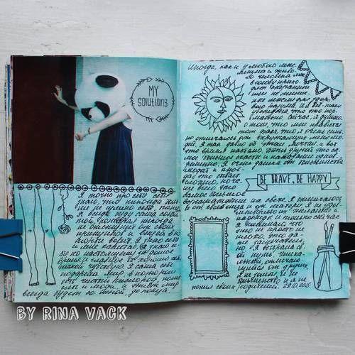 18 Chulisimas Maneras De Adornar Un Diario Art Journal Pages Arte En Cuadernos Cuadernos De Bocetos